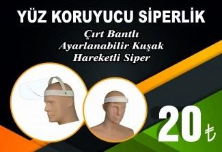 YÜZ KORUYUCU SİPERLİK